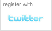 Register with Twitter
